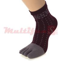 Toe Socks 6 pairs dot star Woman Healthy Socks  business lady  feet care  Cotton socks female socks meias pantufa harajuku sox