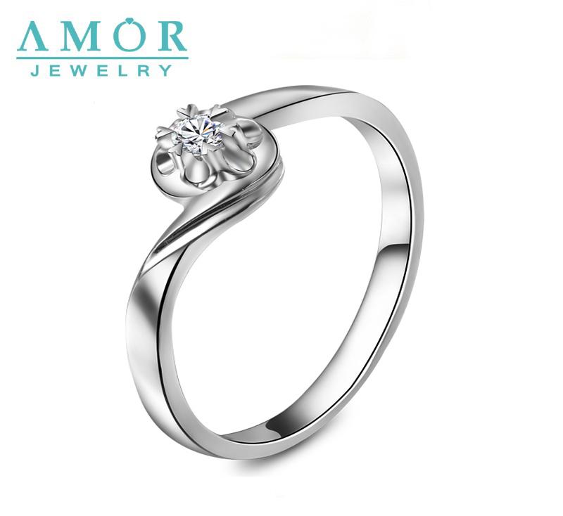 AMOR BRAND HOT SALE 100% NATURAL DIAMOND CLUSTER PT950 RING JEWELRY JBFZSJZ048(China (Mainland))