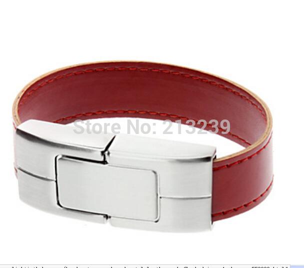 New Hand Catenary Shaped Metal+Leather USB Flash Drives pendrive genuine 4gb/8gb/16gb/32gb freeshipping(China (Mainland))