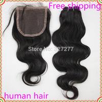 Brazilian remy body wave 6 bundles with 1pcs Lace closure Queen virgin hair Grade AAAAA color 1B #2  Cheap brazilian body wave