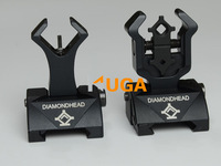 Diamondhead DIAMOND Flip-Up Rear Combat Sight & HYBRID Front Sight Front Sight Folding