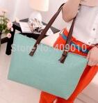 Fashion Women Handbag PU Leisure Joker Oracle Print Summer Bag