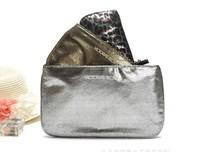 New 2014 Victoria cosmetic bag Leopard Travel small bag fashion makeup bag beautician women's clutch vs handbags 3 pcs/set