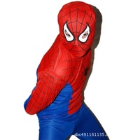 Halloween Costume - Adult Spiderman show clothes / free shipping