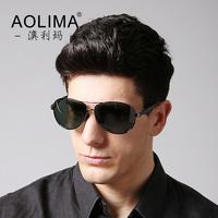 Large frame sunglasses Polarizer sunglasses men driving glasses Uv protection sunglasses driver frog mirror lens