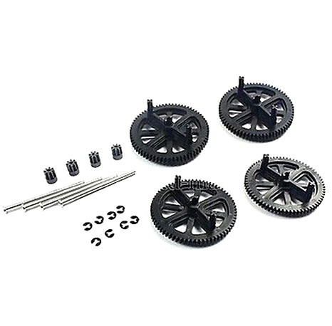 free shipping Parrot AR Drone 2.0 & 1.0 Quadcopter Spare Parts Motor Gears & Shafts Black(China (Mainland))