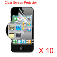 For Iphone 4/4s mobile Phone Protect Screen Film high definitioin protective film wholecale Price Clear Film 100% Brand new