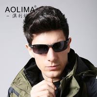Aluminum magnesium polarizer sunglasses men hipster glasses driver driving glasses lens uv polarizing sunglasses