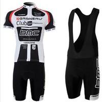 Styles team BMC Cycling Jerseys Bike Jersey + bmc BIB cycling shorts Men's sports riding Suit bicycle clothes for men #4563
