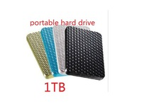 "External portable hard drive disk real 1TB capacity G2 USB 3.0 2.5""  for Desktop and Laptop Free shipping"