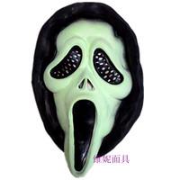 Halloween horror ghost masks Natural latex masks Horror ghost mask Scream masks free shipping