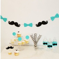 Wedding Banners Wedding Hallowmas Party Decorations Mustache Garlands Buntings