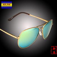 Men's sunglasses sunglasses Male female frog mirror myopic 3025 dazzle colour sunglasses polarized sunglasses