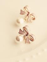 butterfly large beads no pierced earrings