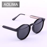 Polarizer sunglasses sunglasses female boom star style restoring ancient ways round sunglasses Myopia polarizing sunglasses