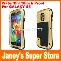 Original LOVE MEI Small Waist Powerful Case for Samsung Galaxy S5 G900 i9600 Shockproof Dirtproof Water Resist
