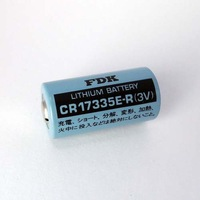 Original FDK CR17335E-R SANYO 3V  Lithium Battery Cylindrical Laser  battery made in japan