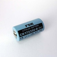Original FDK CR17335E-R SANYO 3V  Lithium Battery With Tabs Cylindrical Laser  battery made in japan