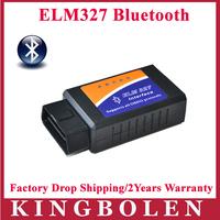 2014 Hottest ELM 327 V1.5 Interface Works On Android Torque Elm327 Bluetooth OBD2/OBD II Car Diagnostic Scanner 2 Years Warranty
