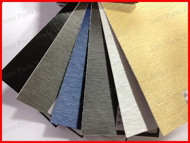 1 PC 1.52x50cm Aluminum Brush Vinyl car wrap aluminium vinyl car sticker FREE SHIPPING(China (Mainland))