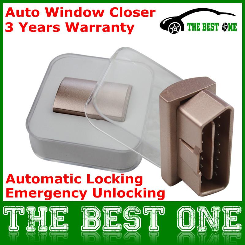 Newest Automatically Close Window Device Support Multi-Brand OBD 2 Original Car Upgrade Window Closer Intelligent Lock Free Ship(China (Mainland))