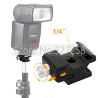 Metal Camera Hot Shoe Mount Adapter fr Flash Bracket/Holder Light Stand Trigger