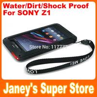 Original LOVE MEI Powerful Case for Sony Xperia Z1 L39h Shockproof Dirtproof Water Resist