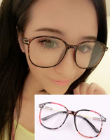 Wholesale Retail Fashion Retro T Style Acetate Youth Eyeglasses Promotion Men Women Plain Mirror Spectacles Frames free shipping