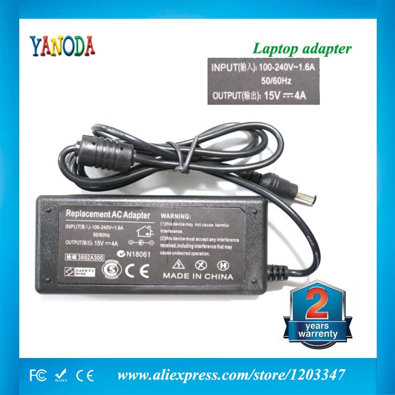 Netzteil/Ladegerät n123 15v 4a neue für toshiba satellite pa3282u-1aca pa2450u- 00489a 6.3mm*3.0mm versandkostenfrei