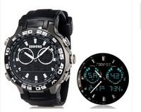 Original Shhors New Arrival 2014_Silicon Rubber Calendar Stop Watch timer Wristwatch Watches Men Boy Man Big Size Sports