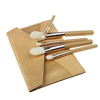 2014 Professional 5PCS Eyeshadow Blending Brush Eye Brushes Set Makeup Tool Cosmetic Brush with Golden Envelope Shap Bag