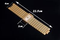 Exaggerated 40MM Wide Luxury Gold Bracelet Bangle Watch Brazilian Favorite Dress Wrist watch Crystal Quartz Clock Reloj NW256
