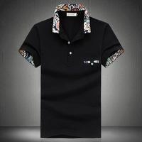 hot sell 2014 new England style mens polo shirt short sleeve shirt polo menswear free shipping  JBAX11