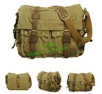 Military Canvas Bag Vintage Fashion Shoulder Message Bag Tactical Canvas Bag