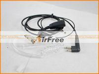 Discount FREE SHIPPING 2PCs Lapel PTT Earphone Earpiece for CP040 CP140 CP180 RADIO & HYT TC-600 TC-610 TC-620 TC-500