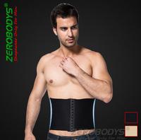 slim belt  Men waist shapers brand zerobodys abdomen shaper corset slimming bodyshaper color white and black , xl, xl,xxl