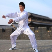 Emulation silk tai chi GongFuFu performance under martial arts clothing uniforms for men and women