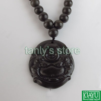 Natural Si Bin 5A Bian stone Bian-stone Pendant Healthcare for body big belly Buddha pattern