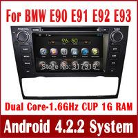 Android 4.2 Car DVD Player for BMW E90 E91 E92 E93 with GPS Navigation Navi Radio BT USB AUX iPod DVR OBD 3G WIFI Stereo Audio