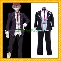 Free Shipping Custom Make Diabolik Lovers Anime Cosplay Ayato Club Party Costume,2kg/pc