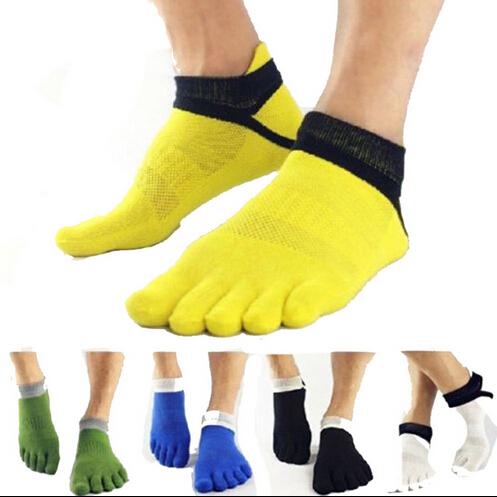 New 2014 Color Patchwork Men Socks/1 Pair Casual Cotton Socks For Men/Brand Sport Socks Men Clothing(China (Mainland))