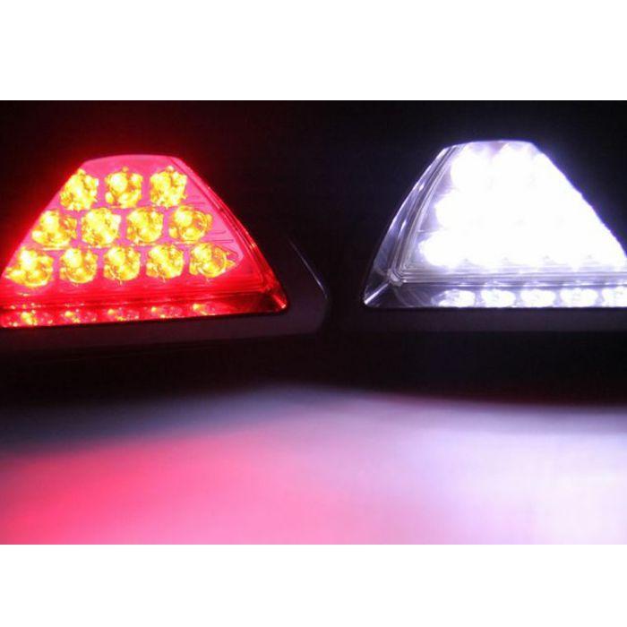 Universal F1 Style Car ATV SUV 12V LED Stop Fog Tail Brake Lights Lamp(China (Mainland))