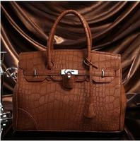 European fashion handbags for woman classic rock pattern platinum shoulder bags good quality woman's bag