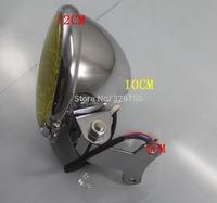 "MOTORCYCLE chrome 5"" LED HEADLIGHT HEAD LAMP"