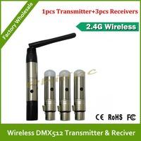 DHL  Free Shipping wireless dmx transmitter for rgb wireless dmx led par light
