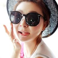 Sunglasses female 2014 sunglasses star style fashion vintage big box round women's sun glasses
