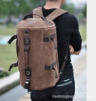 New 2014 men's travel bags large canvas handbags fashion European and American style men's backpacks