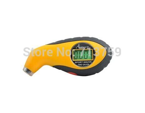 New Sport Mini Digital LCD Bike Motorcycle Car Tire Tyre Air Pressure Gauge Meter Manometer Tester Tool(China (Mainland))