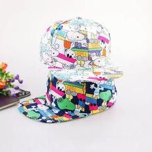 2014 New Cute Character Baseball Cap Women Hip Hop Hat High Quality Two Colors