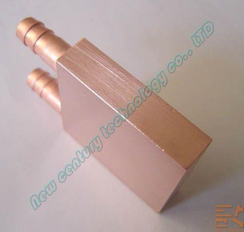 new 2 pcs água de refrigeração water block de cobre para cpu gpu 40* 40* 10 mm(China (Mainland))